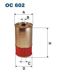 FILTRON filter olejový OC 602