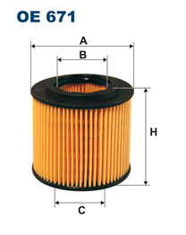 Filter olejovy FABIA1 1.2HTP 40/47kW FILTRON