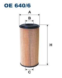 FILTRON filter olejový OE 640/6
