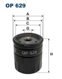 Filter olejový FAVORIT/FELICIA 1.3 FILTRON
