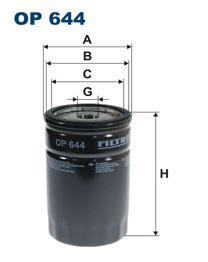 FILTRON filter olejový OP 644