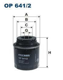 FILTRON filter olejový OP 641/2