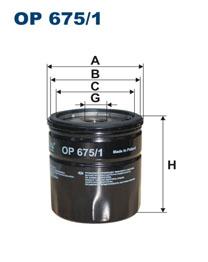 FILTRON filter olejový OP 675/1
